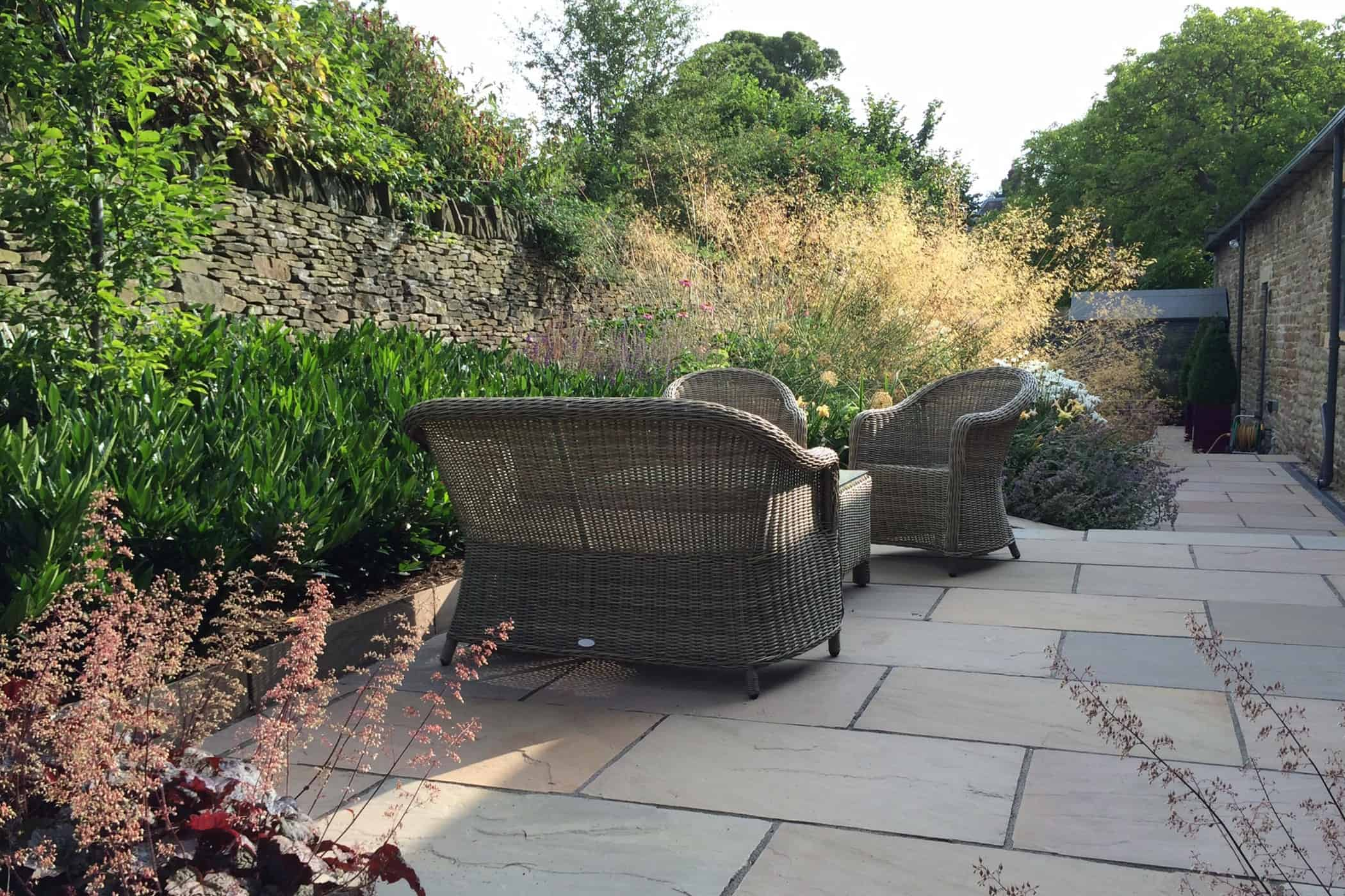 Outdoor Living L-Shaped Garden Seating | Bestall & Co