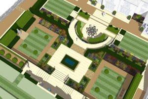 What is a garden designer?