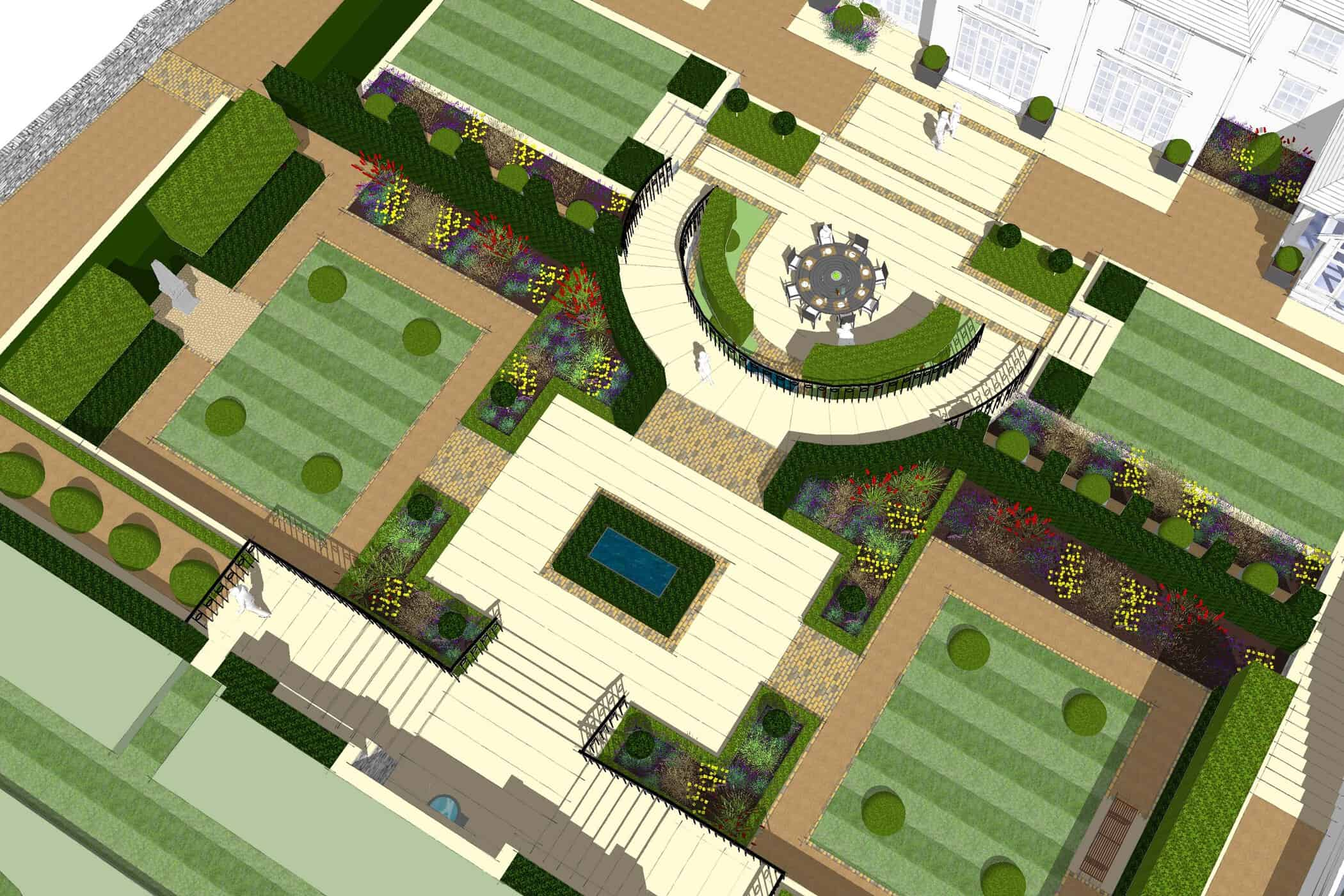 What is a garden designer?