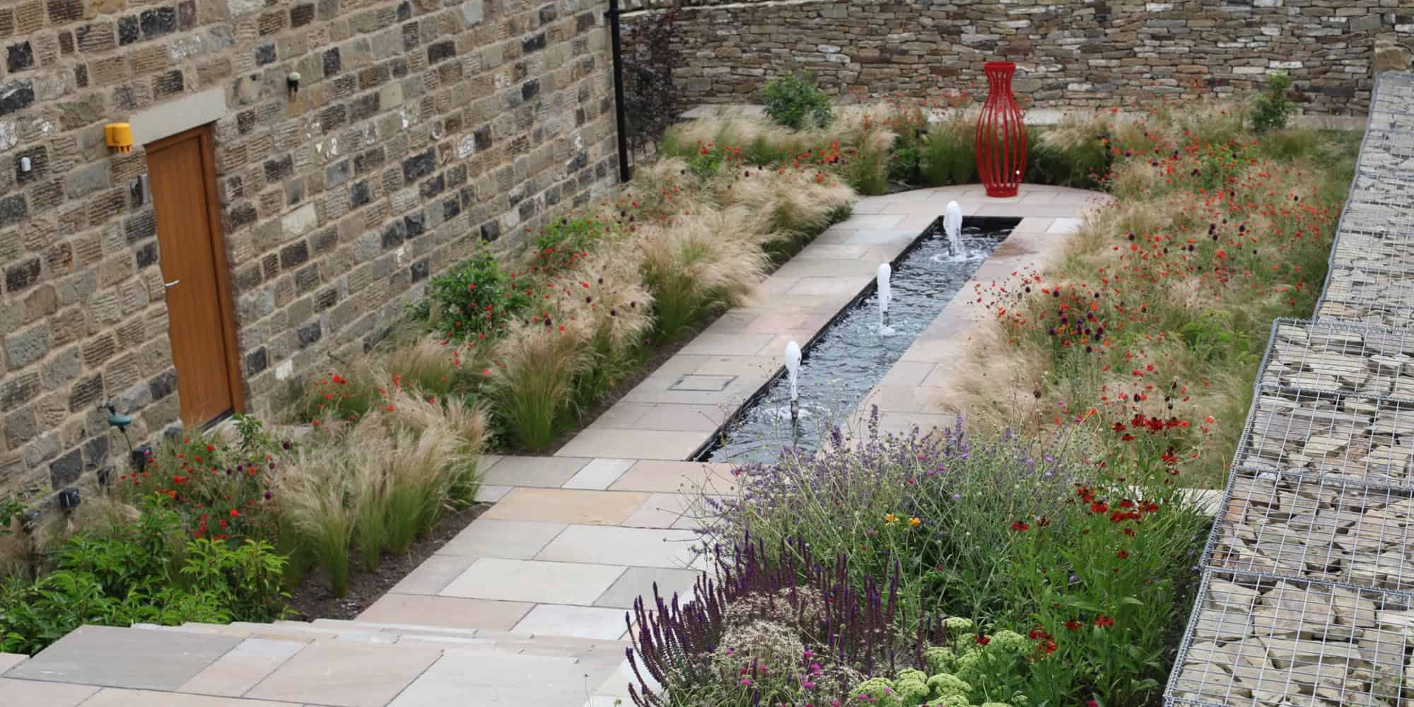 country garden yorkshire, planting design, bestall and co, chelsea flower show, lee bestall Barn Conversion