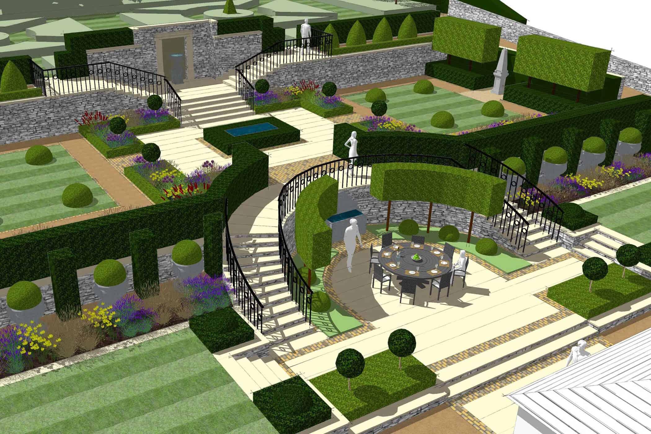 Formal Garden-bestall & co