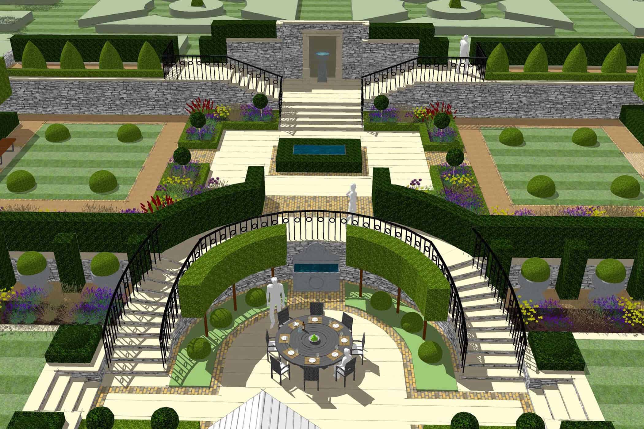 Formal Garden-bestall & co