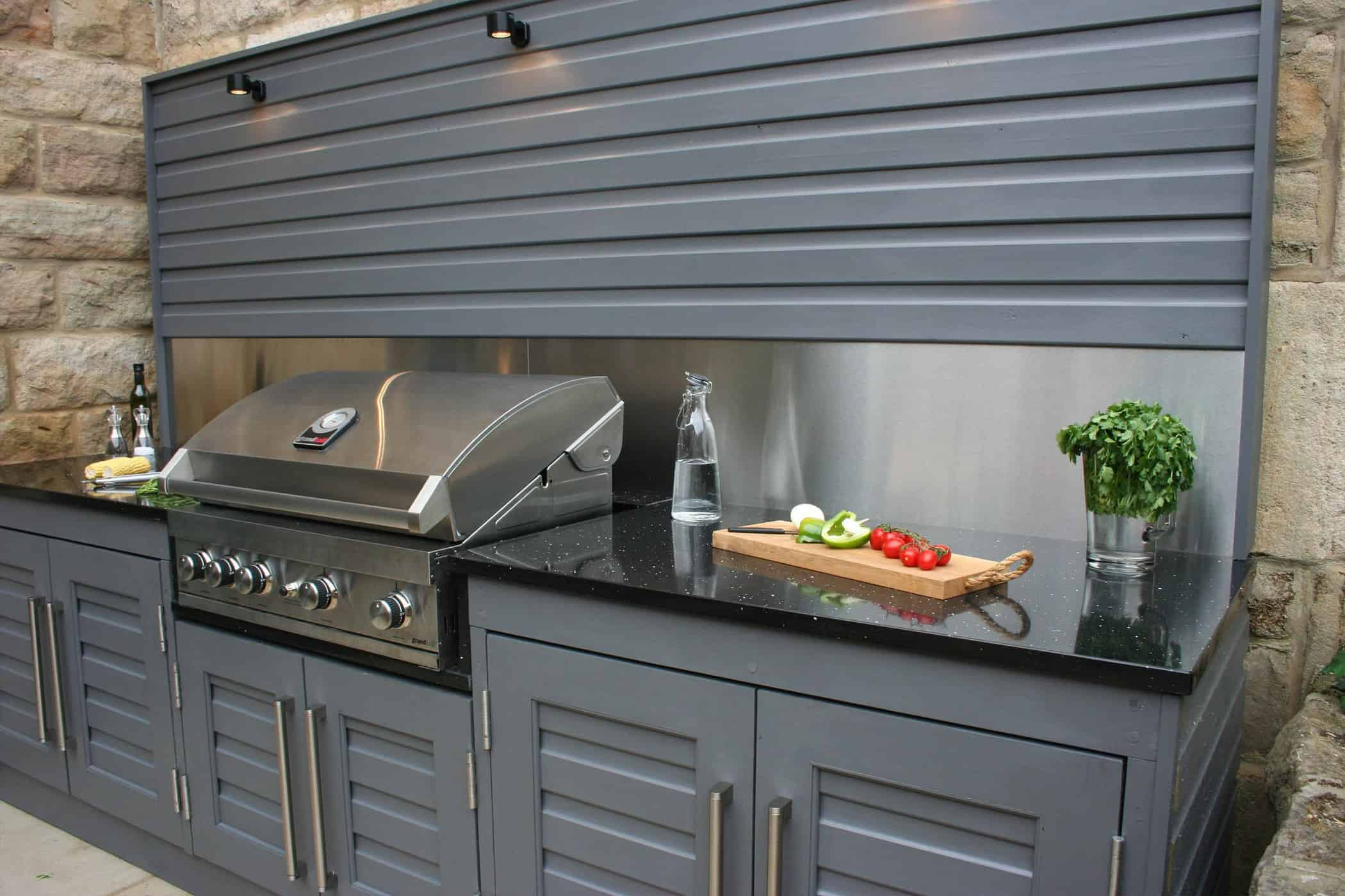 Outdoor Kitchen, Bestall & Co, Garden design, BBQ