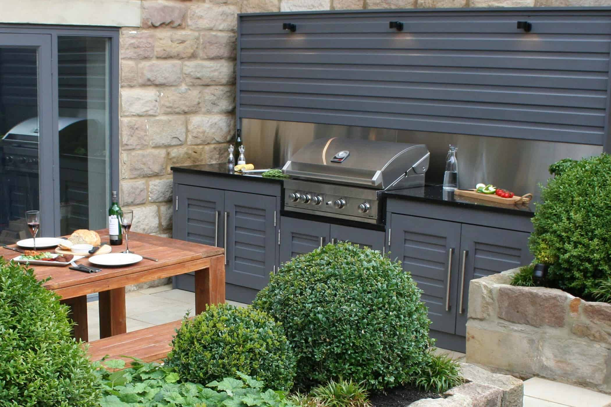 Outdoor Kitchen, Bestall amp; Co, Garden design,BBQ