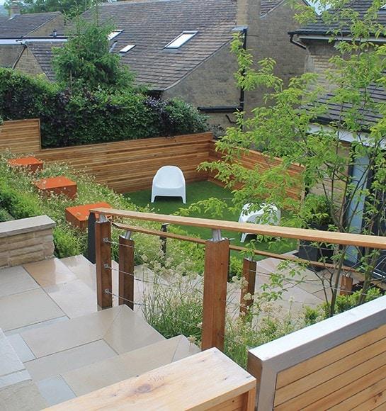 Garden-Landscaping-Tiered-Garden