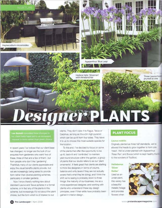 designer plants article