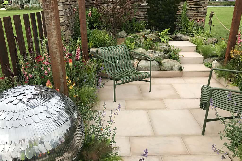 BBC Radio Sheffield's Elements of Sheffield award-winning garden