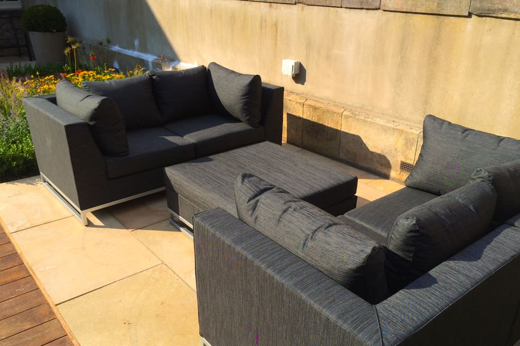 The Rochester mix and match outdoor sofa range