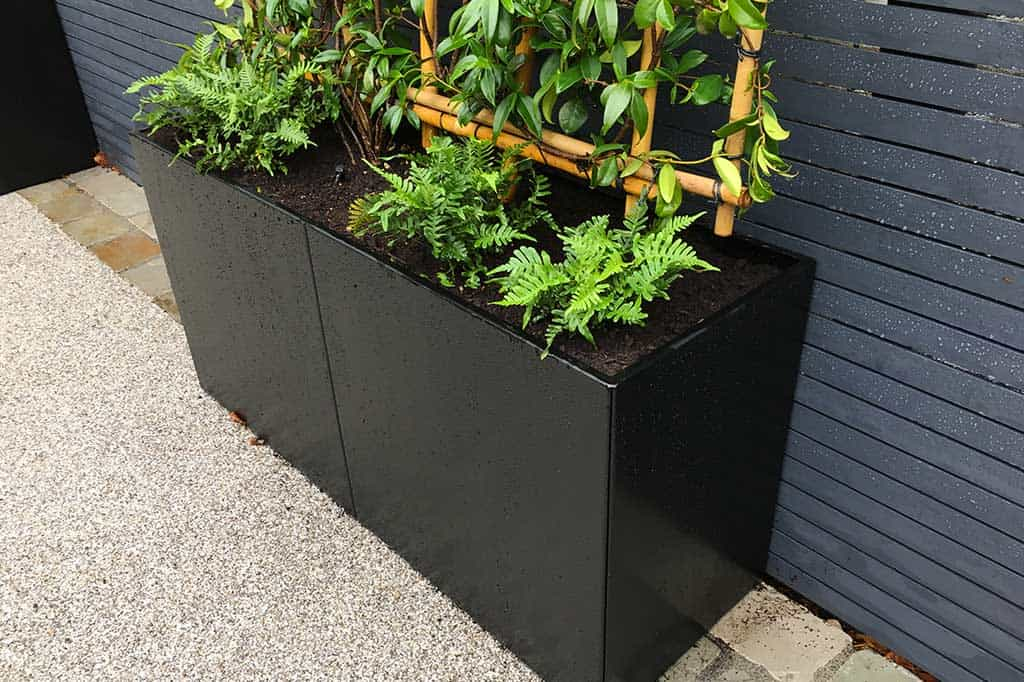 Rectangular Metal Planters
