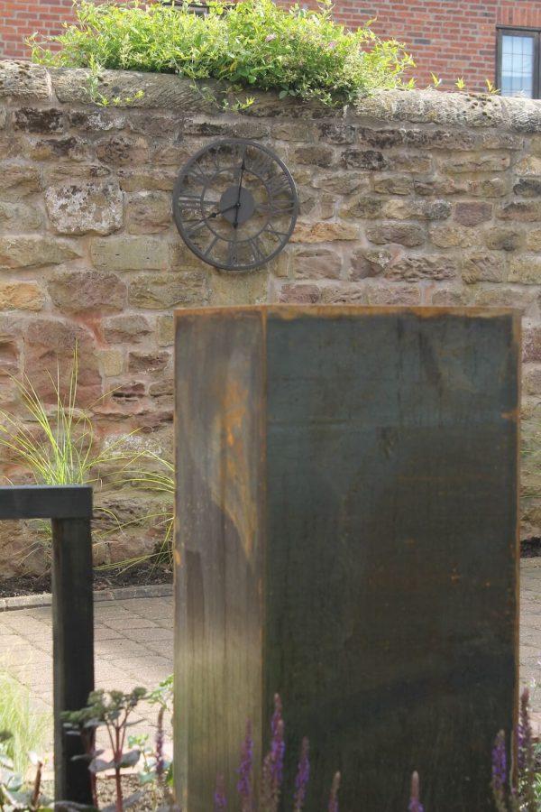 Corten Steel Plinth 3
