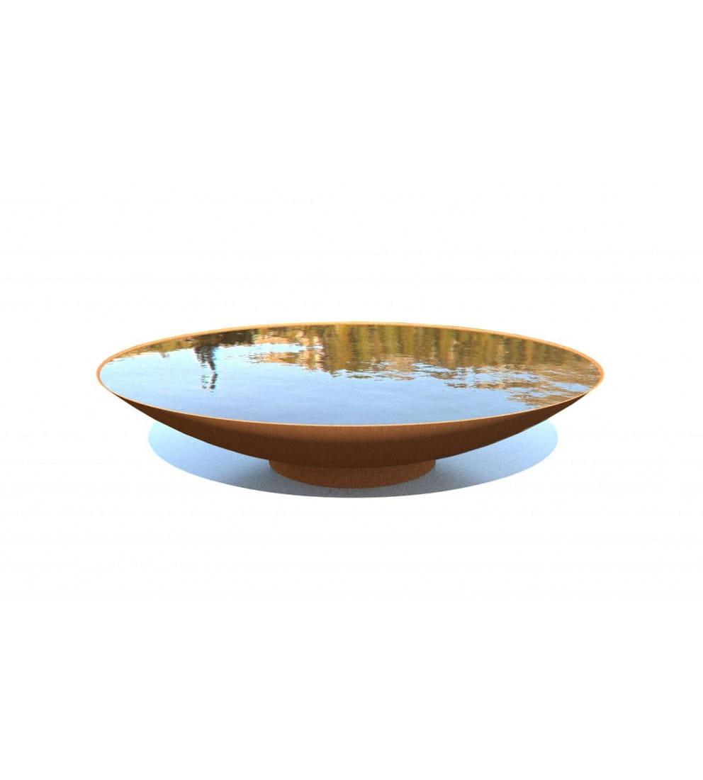 Corten-Steel-Water-Bowl